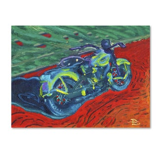 Lowell S.V. Devin 'Expressionist Bike' Canvas Art