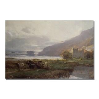 David Farquharson 'Kilchurn Castle' Canvas Art