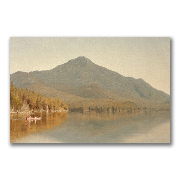 Sanford Gifford 'Mount Whiteface' Canvas - Multi