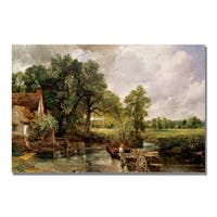 John Constable 'The Hay Wain' Canvas Art - Multi