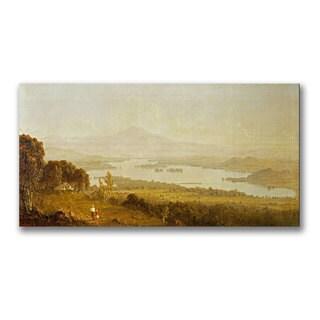 Sanford Gifford 'Lake Winnipiegee' Canvas
