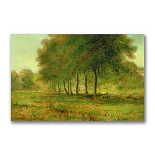 George Inness 'Summer' Canvas Art