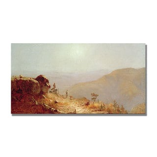 Sanford Gifford 'South Mountains Catskills' Canvas