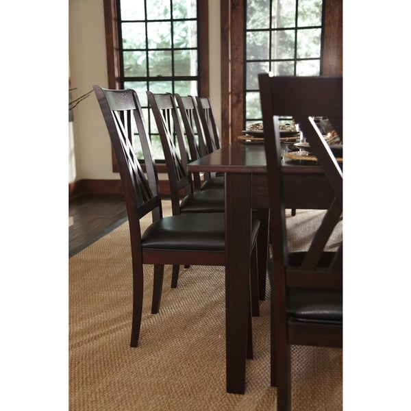 Asha 9 Piece Solid Wood Dining Set   Free Shipping Today   Overstock.com    17532356