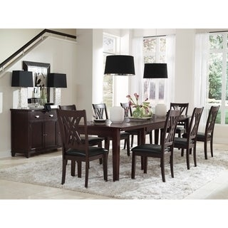 Simply Solid Asha Solid Wood 12-Piece Dining Collection