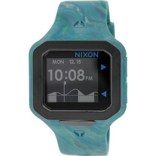 Nixon Men's Supertide A3161610 Multi Silicone Quartz Watch