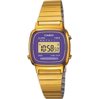 Casio Women's Core LA670WGA-6 Gold Stainless-Steel Quartz Watch