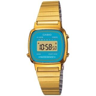 Casio Women's Core LA670WGA-2 Gold Stainless-Steel Quartz Watch