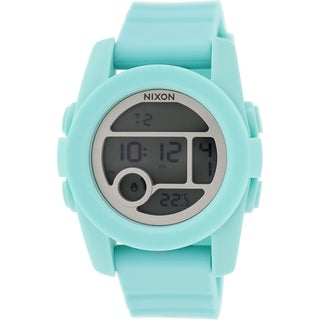 Nixon Women's Unit A490302 Blue Silicone Quartz Watch