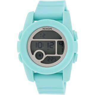 Nixon Women's Unit A490302 Blue Silicone Quartz Watch|https://ak1.ostkcdn.com/images/products/10434923/P17532462.jpg?impolicy=medium