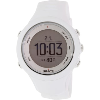 Suunto Men's Ambit 3 SS020683000 White Rubber Quartz Watch