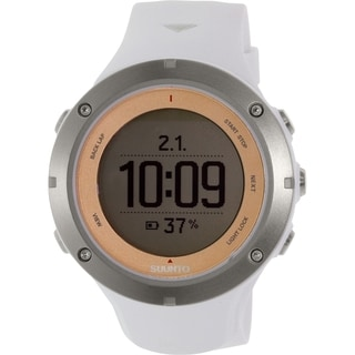 Suunto Men's Ambit 3 Sport Sapphire SS020675000 White Rubber Quartz Watch