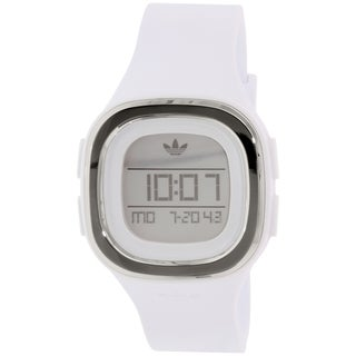 Adidas Men's Denver ADH3032 White Silicone Quartz Watch