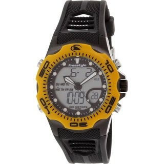 Freestyle Men's Shark 10016989 Black Polyurethane Quartz Watch