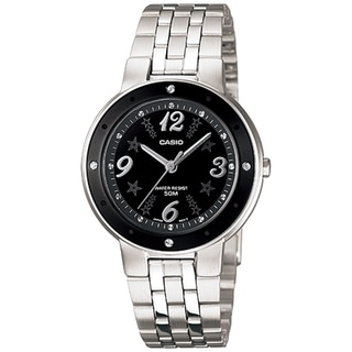 Casio Women's Core LTP1318D-1AV Silver Stainless-Steel Quartz Watch