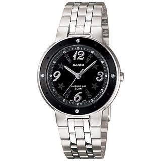 Casio Women's Core LTP1318D-1AV Silver Stainless-Steel Quartz Watch