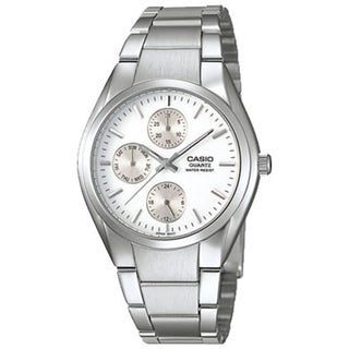 Casio Men's Core MTP1191A-7A Silver Stainless-Steel Quartz Watch
