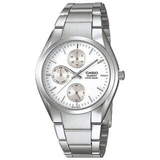 Casio Men's Core MTP1191A-7A Silver Stainless-Steel Quartz Watch