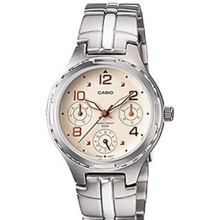Casio Women's Core LTP2064A-7A3V Silver Stainless-Steel Quartz Watch