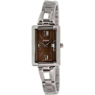 Casio Women's Core LTP1341D-5A Silver Stainless-Steel Quartz Watch