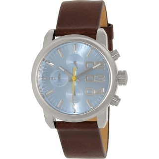 Diesel Women's DZ5464 Brown Leather Leather Quartz Watch