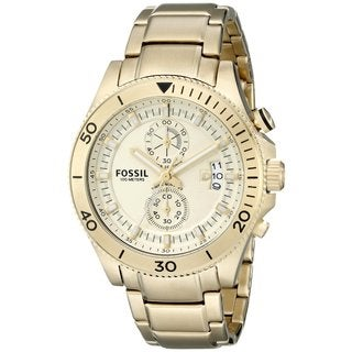Fossil Men's Wakefield CH2974 Gold Stainless-Steel Quartz Watch