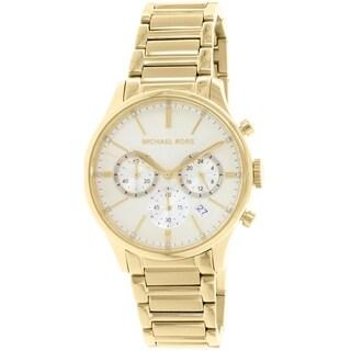 Michael Kors Women's Bailey MK5986 Gold Stainless-Steel Quartz Watch