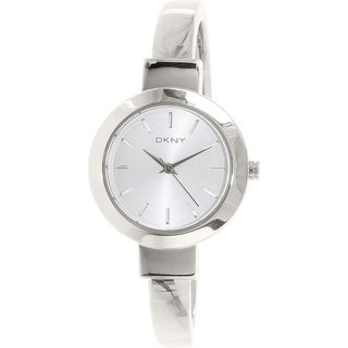 Dkny Women's Stanhope NY2349 Silver Stainless-Steel Quartz Watch