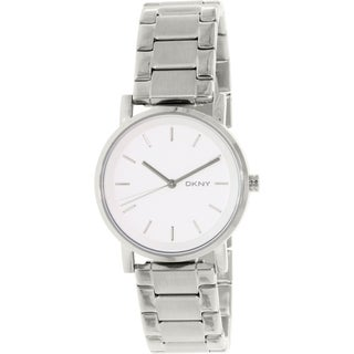 Dkny Women's Soho NY2342 Silver Stainless-Steel Quartz Watch