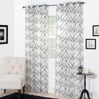 Windsor Home Malga Embroidered Curtain
