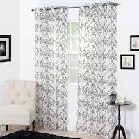 Copper Grove Aleza Embroidered Curtain Panel
