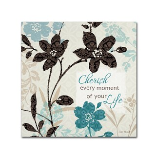 Lisa Audit 'Botanical Touch Quote I' Canvas Art (4 options available)