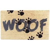 Coir Woof Doormat