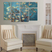 Vincent van Gogh 'Almond Blossoms' 6 Panel Art Set
