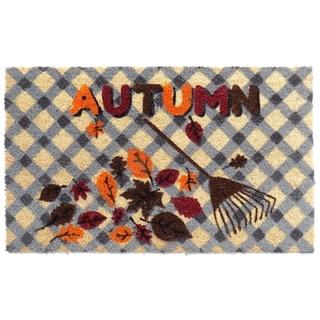 Coir Autumn Doormat