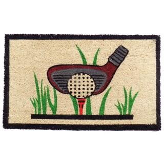 Coir Golf Doormat