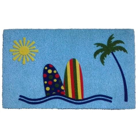 Coir Sunny Beach Doormat