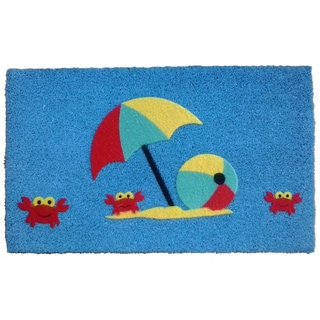 Coir Crab's Beach Doormat