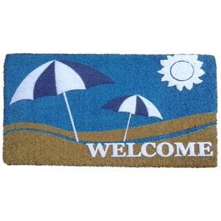 Coir Sun and Sand Doormat
