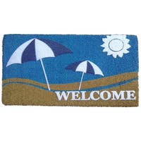 Coir Sun and Sand Doormat