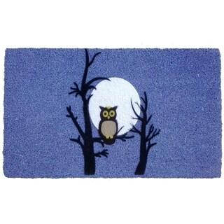 Coir Night Owl Doormat