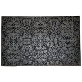 Wrought Iron Kaleidoscope Doormat