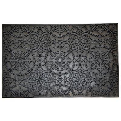 Wrought Iron Kaleidoscope Doormat - Door Mat