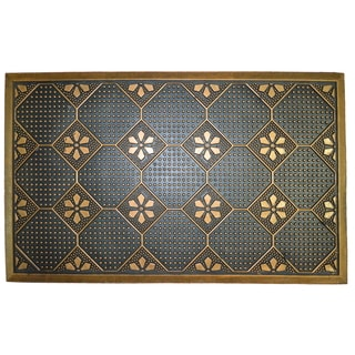 Wrought Iron Golden Plumbago Doormat