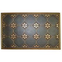 Wrought Iron Golden Plumbago Doormat