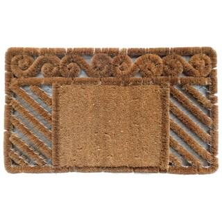 Coir Boot Scrapper Combination Doormat