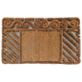 Coir Boot Scrapper Combination Doormat