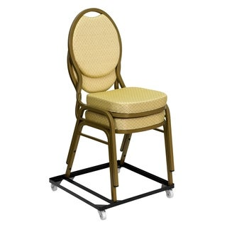 Hercules Series Steel Stack Chair and Church Chair Dolly