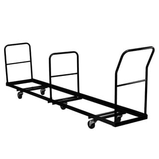 Vertical Storage Folding Chair Dolly with 50 Chair Capacity