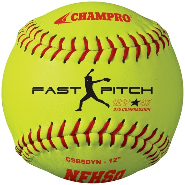 Champro NFHS 12-inch Fast Pitch Softball Dozen
